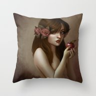 Les Petits Plaisirs Throw Pillow