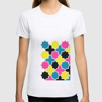 CMYK IV Womens Fitted Tee Ash Grey SMALL