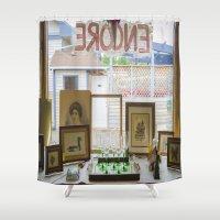 Store window  Shower Curtain
