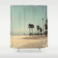 Venice Beach number 2 Shower Curtain