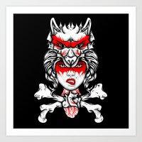 Foxxy Art Print
