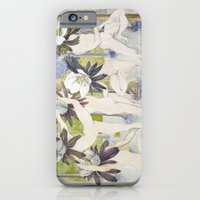iPhone & iPod Case featuring Dance of the Winter Aconite by Rebecca Rogers