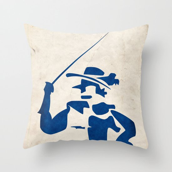 Cyrano de Bergerac - Digital Work Throw Pillow