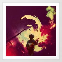 |A NEW AURORA| Art Print