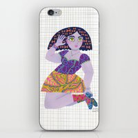 Bow Girl iPhone & iPod Skin
