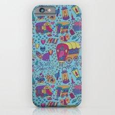 Caravan Pattern Slim Case iPhone 6s