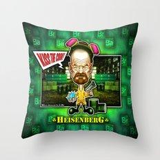 The Heisenberg concept! Throw Pillow