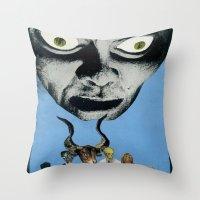 Golem A G0-Go Throw Pillow