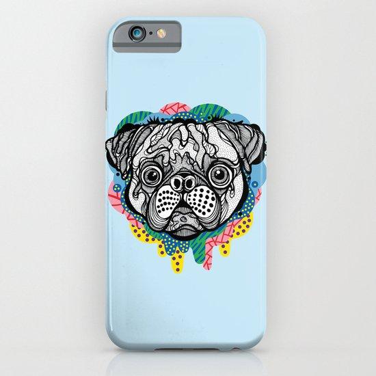 Pug Face iPhone & iPod Case