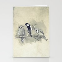 The Tree Stooges Stationery Cards