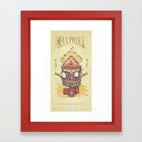 Jellyroll #9: Caos Framed Art Print