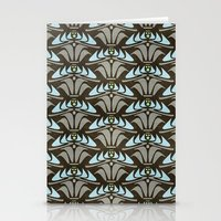 Blue - Arts And Crafts I… Stationery Cards