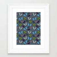 Butterflies 01 Framed Art Print