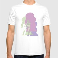 Amy 2 Mens Fitted Tee White SMALL