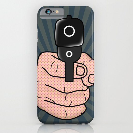 comics gun  iPhone & iPod Case