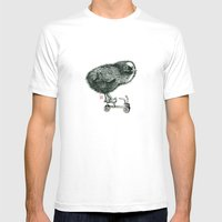 Chick on speed Mens Fitted Tee White SMALL