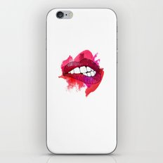 LIP BITE iPhone & iPod Skin