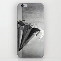 Origami Flower iPhone & iPod Skin
