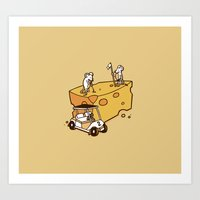 Par Cheesy Art Print