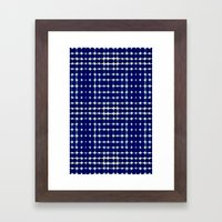 Deelder Blue Framed Art Print