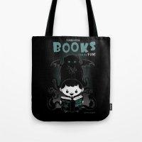 Forbidden books can be fun! Tote Bag