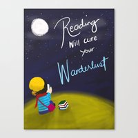 Reading Will Cure Your W… Canvas Print