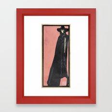 Cape girl Framed Art Print