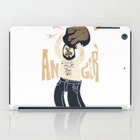 Anger (white Hot Version… iPad Case