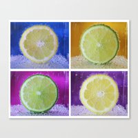 Slice  Canvas Print