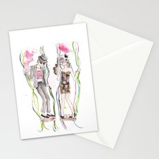 And Then He Kissed Me 2 Stationery Cards