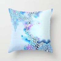 In Between Somewhere And… Throw Pillow