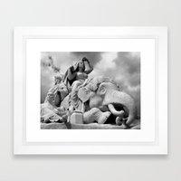 Europe 6 Framed Art Print