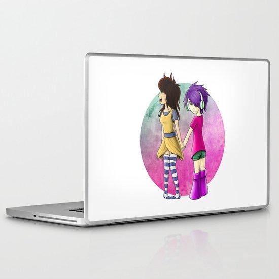 Yukiko & V2.0 Laptop & iPad Skin