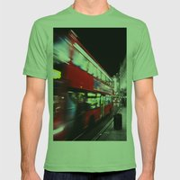 Double Decker Mens Fitted Tee Grass SMALL