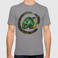 At Sign {@} Series - Coo… Mens Fitted Tee Tri-Grey SMALL