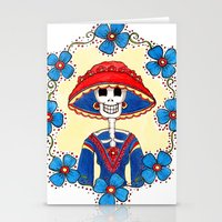 Catrina Doña Amelia Stationery Cards