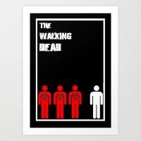 The Walking Dead Minimal… Art Print