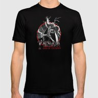 Tesla: God Of Thunder Mens Fitted Tee Black SMALL
