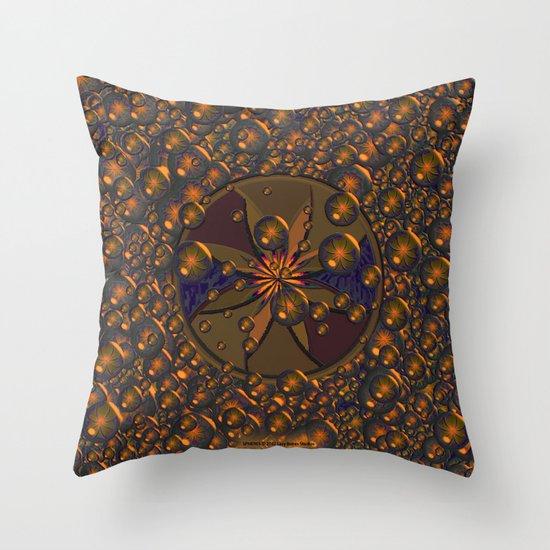 SPHERES 020 Throw Pillow