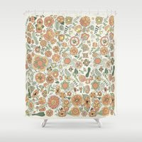 Naranjas Shower Curtain