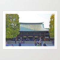 Meiji Jinju Art Print