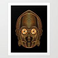 StarWars - C-3PO Art Print