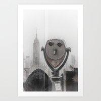 Empire State NYC Art Print