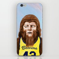 Teenwolf iPhone & iPod Skin