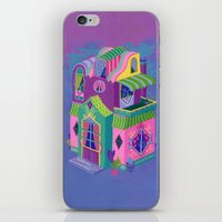 Balcony House iPhone & iPod Skin