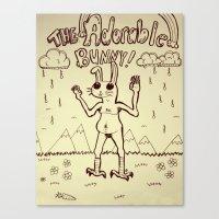 The Adorable Bunny Canvas Print