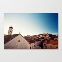 Sunrise in Dubrovnik Canvas Print