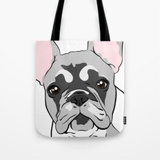 Jersey the French Bulldog Tote Bag
