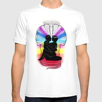 SHAKTI KUNDALINI - The S… Mens Fitted Tee White SMALL