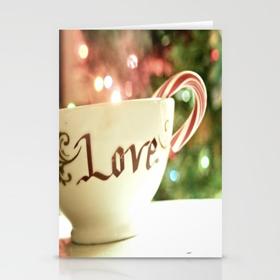 All the Things I Love Stationery Card